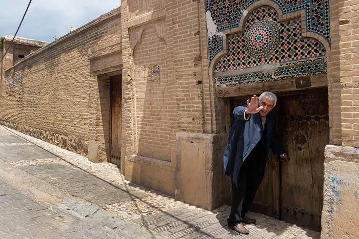یکی از اهالی قدیمی شیراز